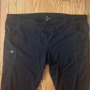 "Athleta short workout pants 17"" inseam"